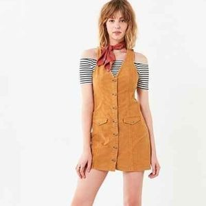 Cooperative Parker Corduroy Button-down Mini Dress